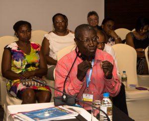 Seychelles principal secretary addresses UNAIDS Executive Director
