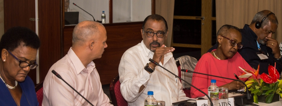 UNAIDS Executive Director addresses 90-90-90 targets at SIDS meeting