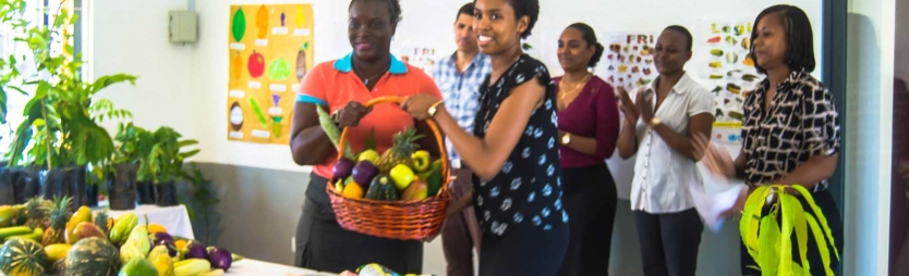 Donation of fruits and vegetable marks World Food Day 2017