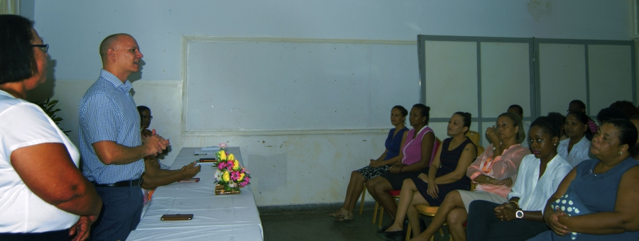 NHISS launches academic year with visit from Health and Social Affairs Minister