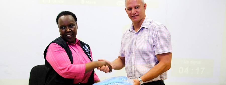 WHO donates personal protective equipment to Ministry of Health
