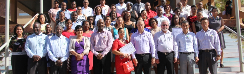 Dedicated employees rewarded for long service