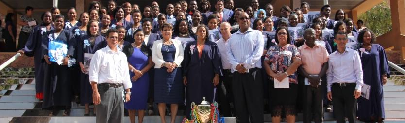 57 Health and Social studies graduates emerge as professionals