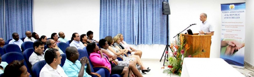 Health minister reaffirms commitment to professional wellbeing of nurses