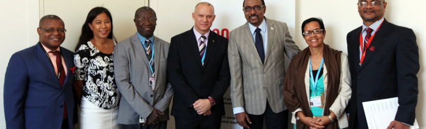 Discussion on Seychelles National HIV/AIDS Strategy initiates future partnership