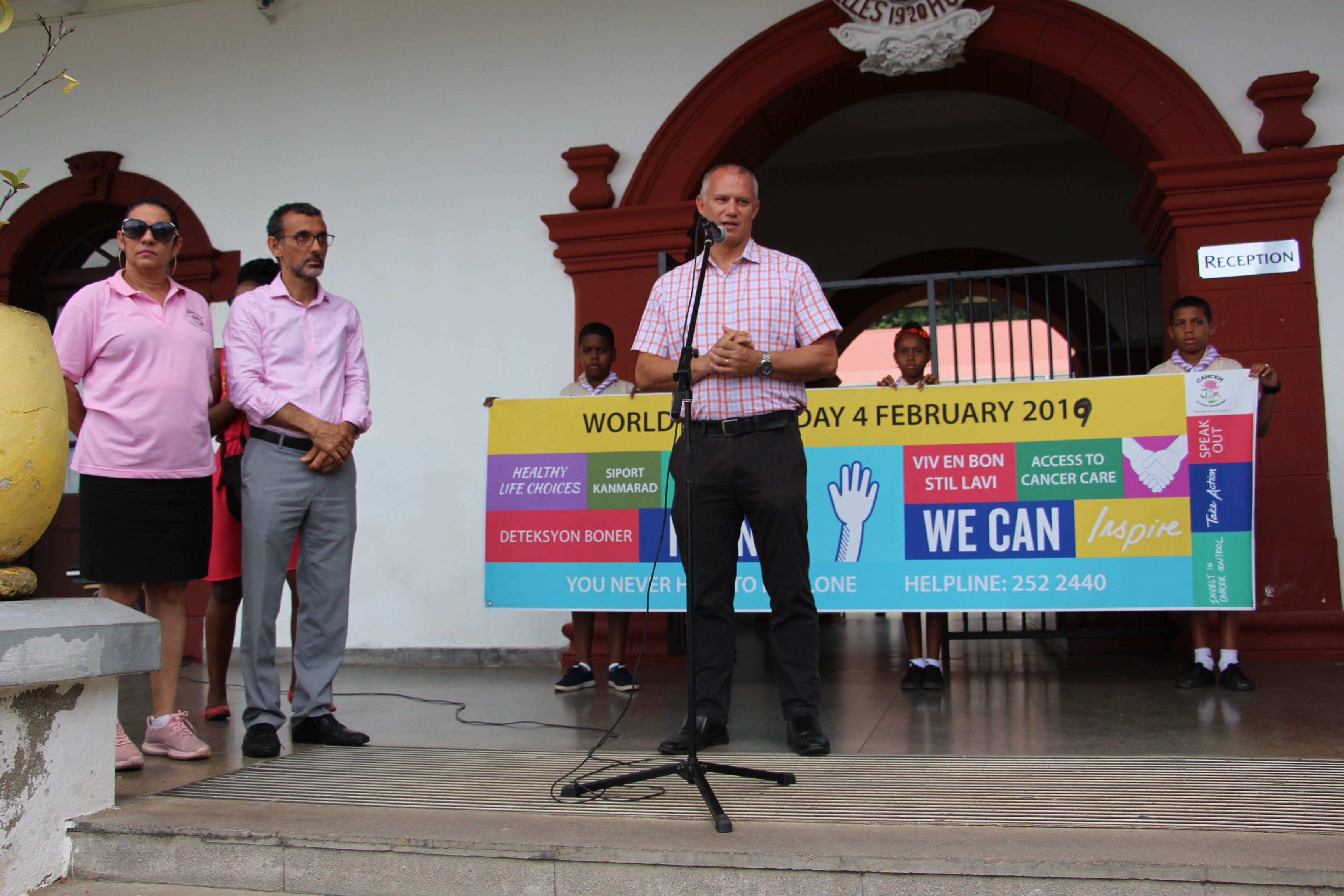 WORLD CANCER DAY 2019 - Ministry of Health